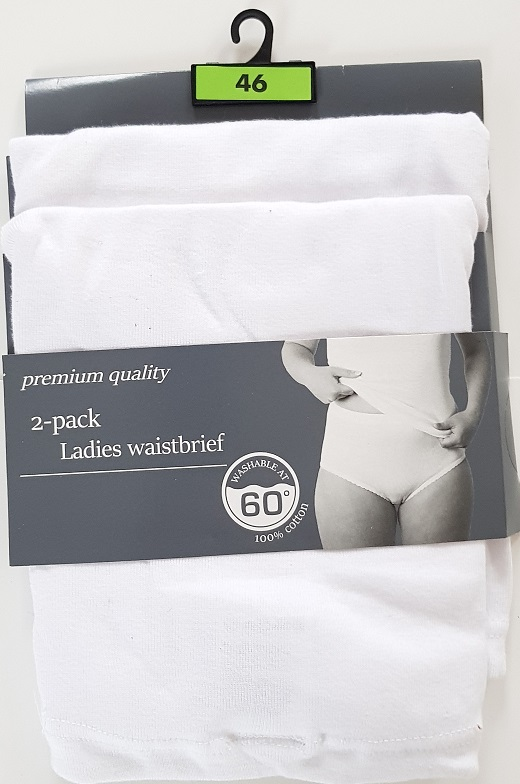 Waistbrief  2 -pack Size 40 to 50