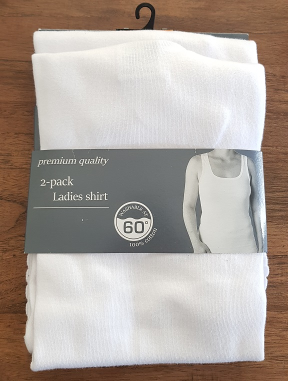 Ladies Shirt sizes 40-50  2-pack