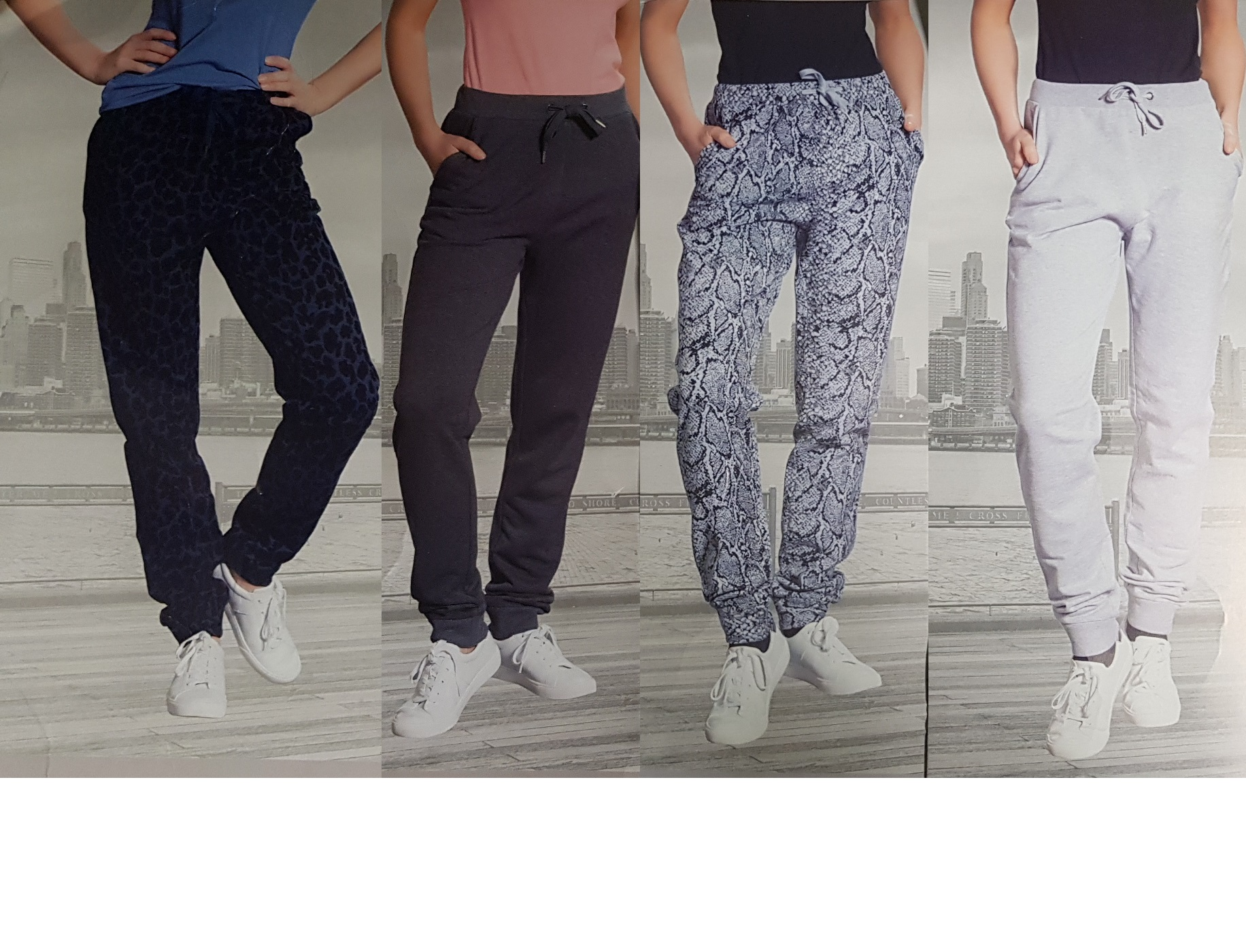Dames Sweatpants Sizes m,l