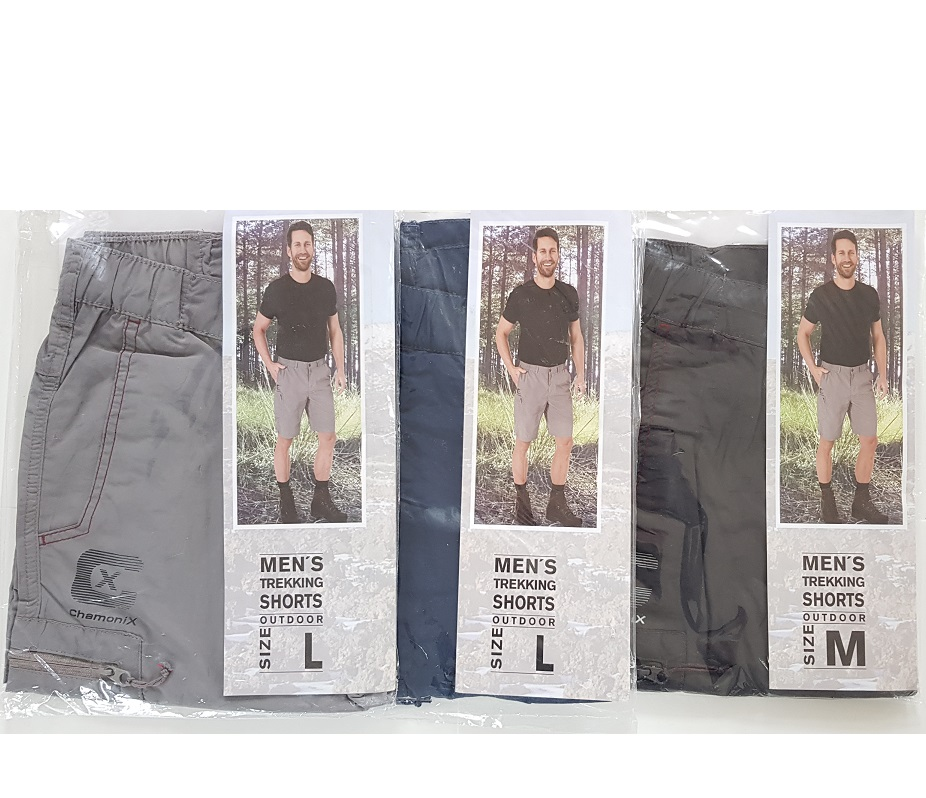Men's trekking shorts sizes m,l,xl