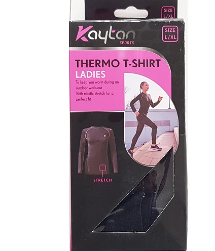 Thermo T-shirt Ladies sizes s/m l/xl