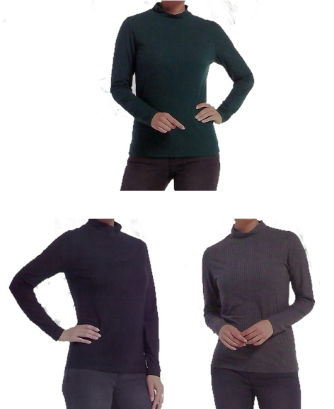Ladies turtle neck sizes M-XL