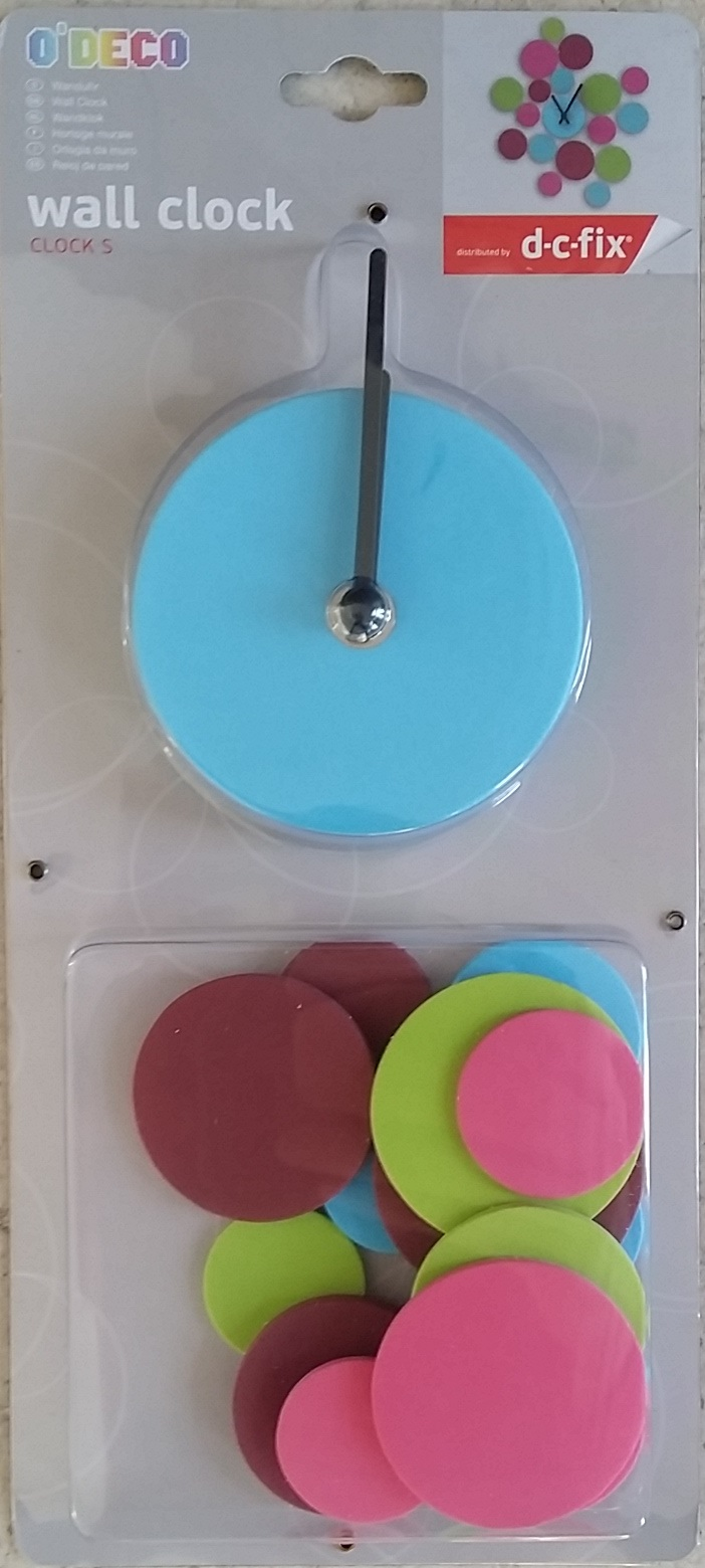Wall Clock Circles foam