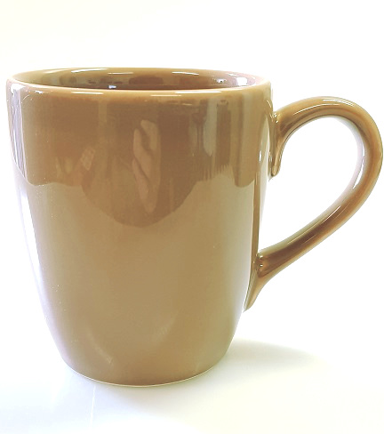 Mug 38cl brown