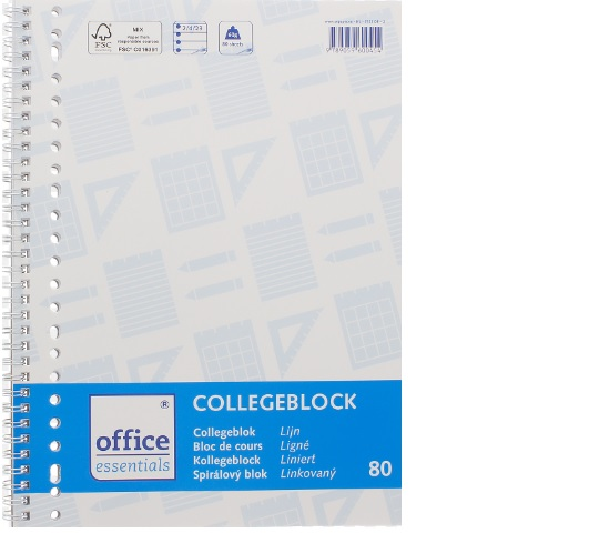 College Blok lined 80 sheets