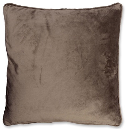 Kussen Milou 45x45cm taupe