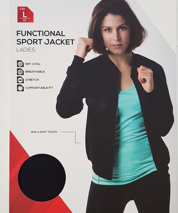 Functional Sport Jacket Ladies sizes s,m,l