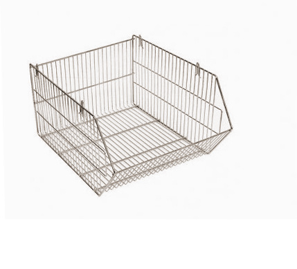 Wire baskets Stackable used 60x70x30cm