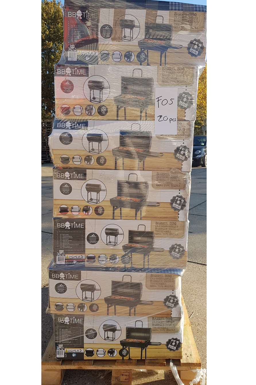Costumer returns BBQ's 1 pallet= 20pcs