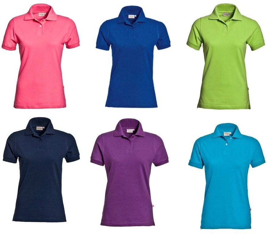 Polo's SANTINO  ladies ass.color sizes xs/s/m/l/xl/xxl